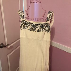 St John Beaded mini-dress size 2